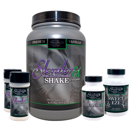 Slender Fx™ Weight Management System - French Vanilla