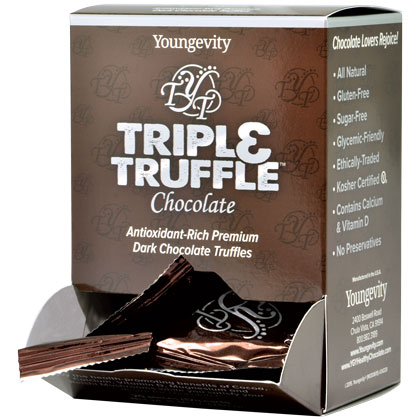Triple Truffle™ Chocolate - 20 ct box