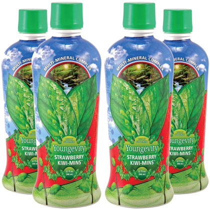 Strawberry Kiwi-Mins 32oz (4 Pack)