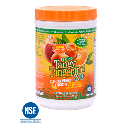 BTT 2.0 Citrus Peach Fusion - 480 g canister