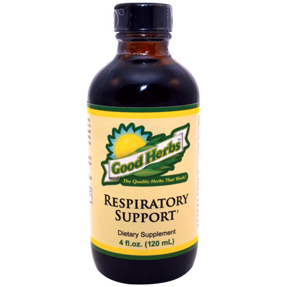 Respiratory Support Good Herbs