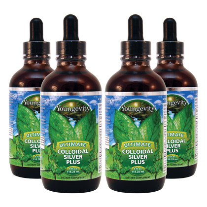 Ultimate Colloidal Silver Plus™ (4 bottles)