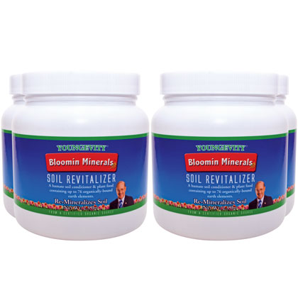 Bloomin Minerals Soil Revitalizer - 2.5 lbs (4 Pack)
