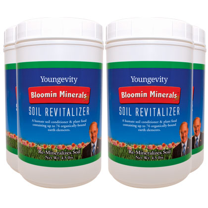 Bloomin Mineral Soil Revitalizer - 4.5 lbs (4 Pack)