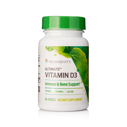 Youngevity Ultimate Vitamin D3 - 60 capsules