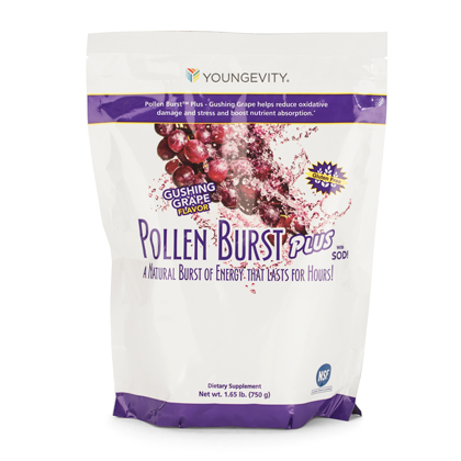 Pollen Burst™ Plus - Gushing Grape - Bag (750g)