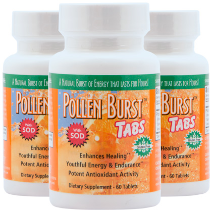 Pollen Burst™ Tabs - 60 Tablets (3 Pack)