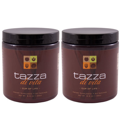 Tazza Di Vita Coffee - 2 Canisters